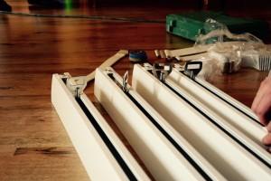 Przygotowanie szyn - systemu do podnoszenia