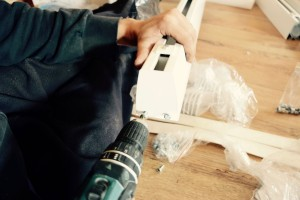 Przygotowanie szyn do montażu podnośnika sufitowego